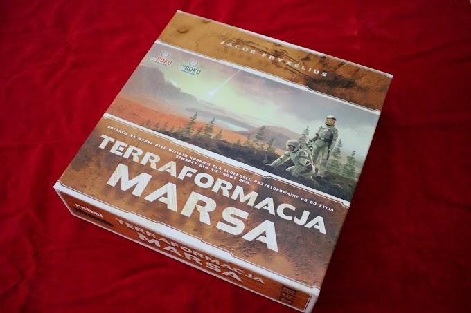 Terraformacja Marsa - czy warto ruszyć na podbój Czerwonej Planety? Recenzja