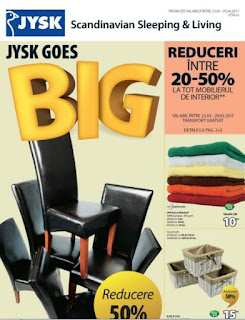 JYSK Romania catalog online si program magazine