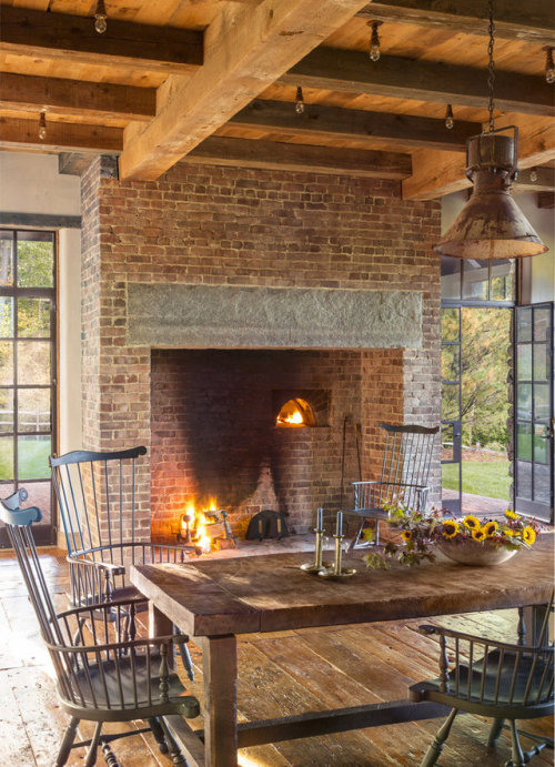 New Walk-in Fireplace, New Old House | Content in a Cottage