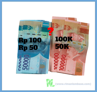 Asal usul Huruf K di Belakang Nilai Harga pada Mata uang rupiah
