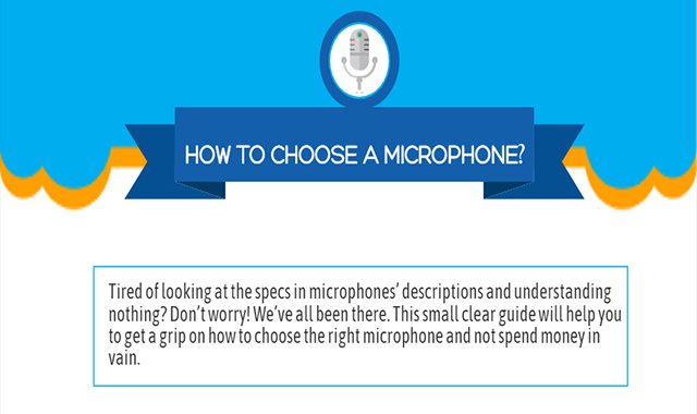 How to Choose the Microphone That Perfectly Suits You #infographic