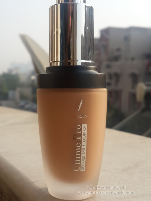 FACES Ultime Pro Second Skin Foundation - Review, Price, Swatches