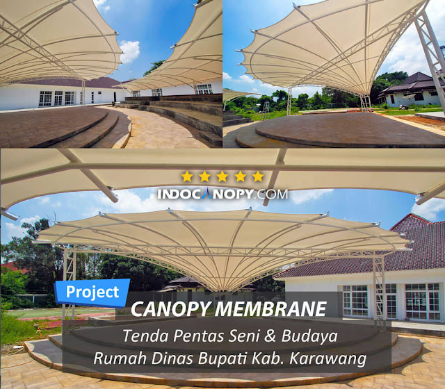 canopy membrane stage in karawang