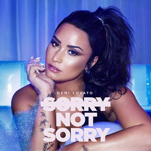 "Demi Lovato Sends a Message to Her Haters With ""Sorry Not Sorry"""