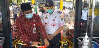 Sekda Sambut Baik Subsidi MODA Trans Siginjai  Bandara Ke Muaro Jambi Hanya Rp 5000 Sekali Bayar.