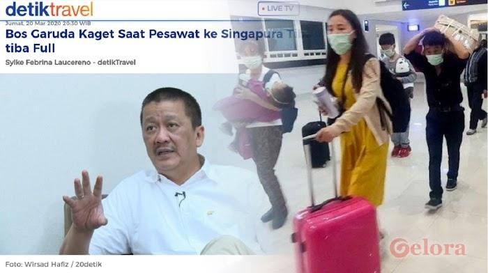 Penerbangan ke Singapura Membludak, Ketua ProDEM: Mirip Krisis 1998