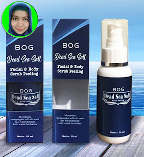 Gambar BOG Dead Sea Salt, Facial & Body Scrub Peeling
