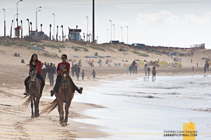 Casablanca 4 Day Itinerary Plage Ain Diab Horseback Riding