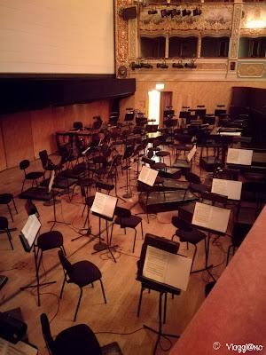 Fossa dei musicisti nel Teatro della Fenice