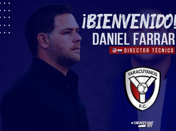 Oficial: Yaracuyano FC, Daniel Farrar nuevo entrenador