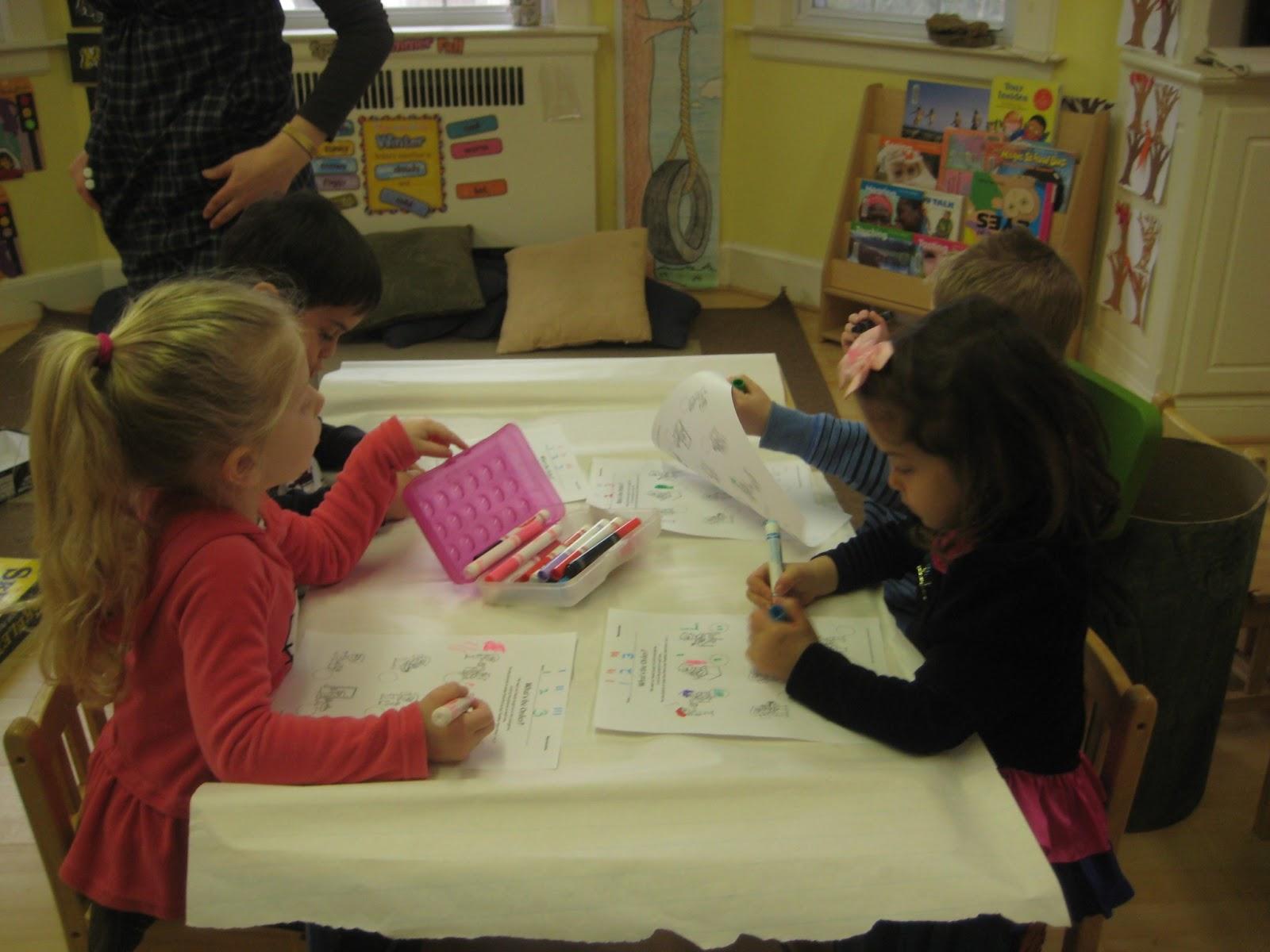 Kinder Gan Preschool Worksheet The Order Of A Story