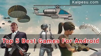 एंड्राइड मोबाइल के लिए पांच बढ़िया वीडियो गेम