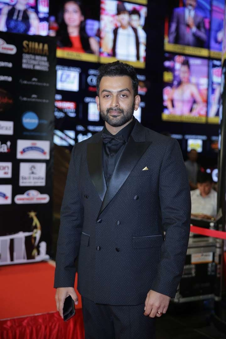 Prithviraj took home the Best Actor Malayalam award for his performance in Ennu Ninte Moideen