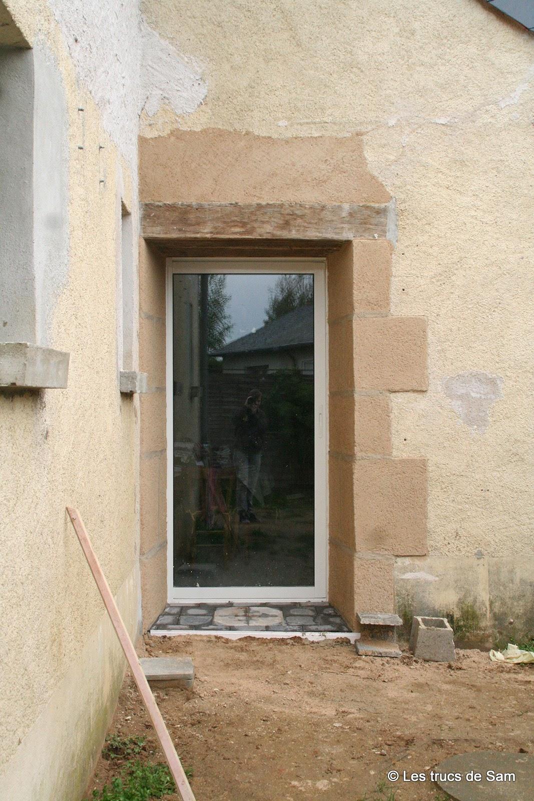 seuil de porte en bois