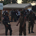 #EdoDecides #EdoElection : Heavy Security Presence At INEC Headquarters (Photos)