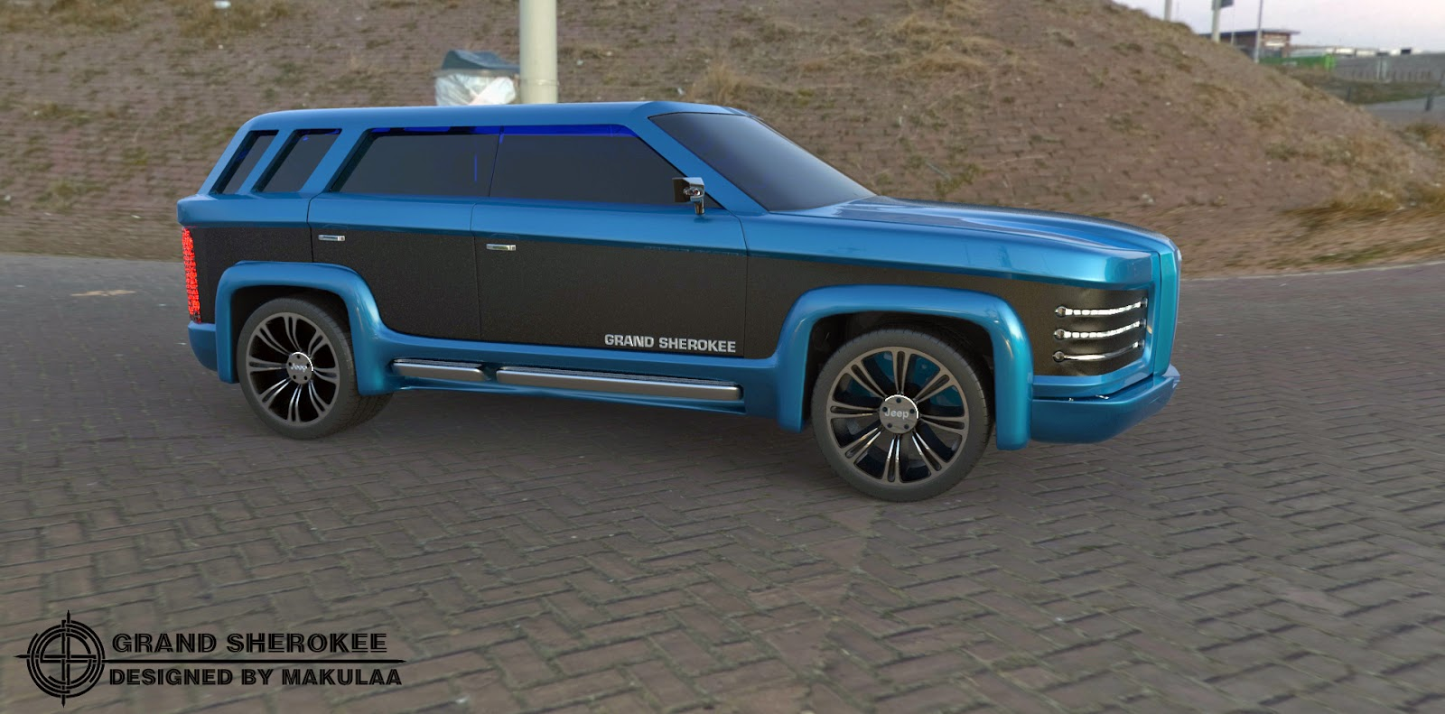 Jeep Grand Cherokee New Concept 2018