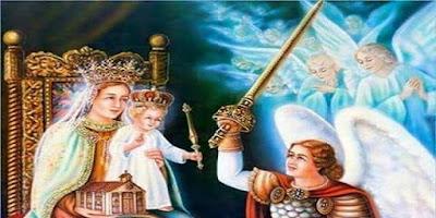 imagem de Nossa Senhora Augusta Rainha dos Céus