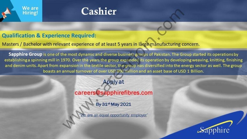 Sapphire Fibres Ltd Jobs 2021 in Pakistan