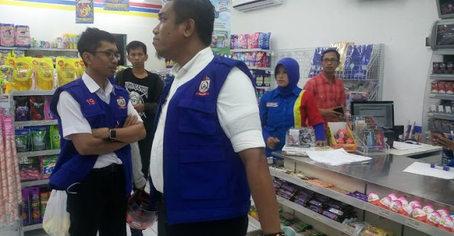 Disperindag Makassar Kembali Menertibkan Minimarket