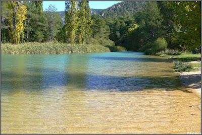 La Playeta en verano (Río Escabas, Cañamares)