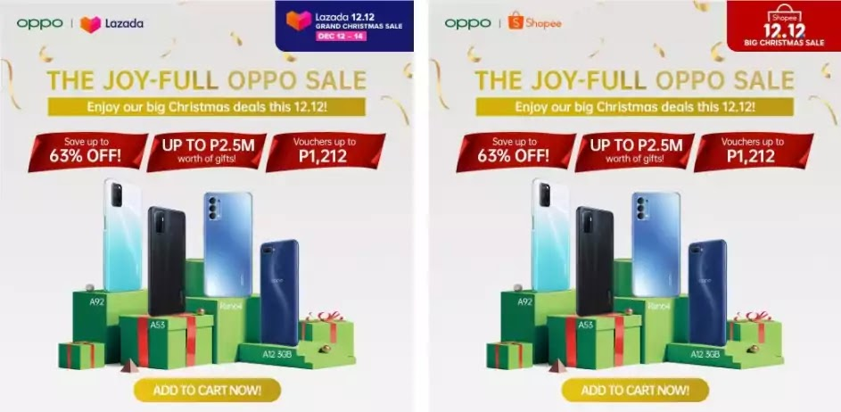 OPPO Joy-full 12.12 Online Sale