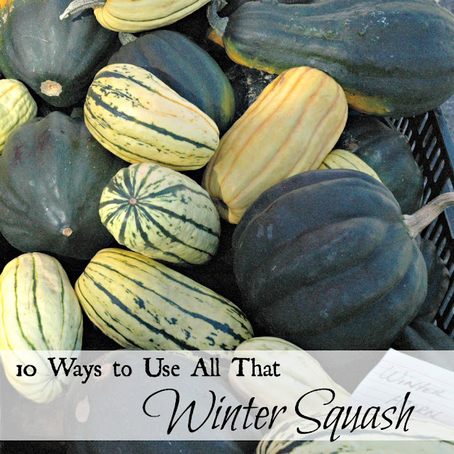 Ten ways to use all that winter squash