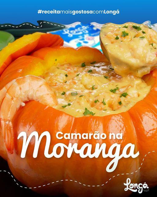 Receita: Camarão na Moranga