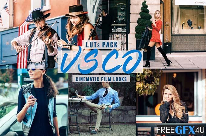 VSCO Cinematic LUTs Pack