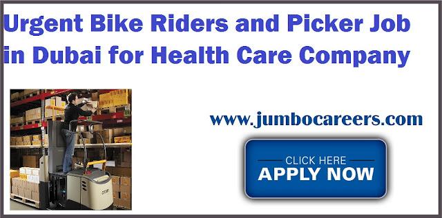 Bike Riders and Picker Job