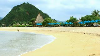 Wisata Tempat Lokasi Pantai Kuta Lombok