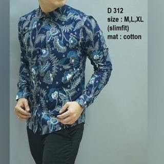 men's batik slim fit
