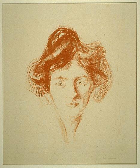 Эдвард Мунк - Берлинская девушка. 1906