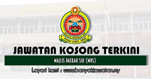 Jawatan Kosong 2020 di Majlis Daerah Sik (MDS)