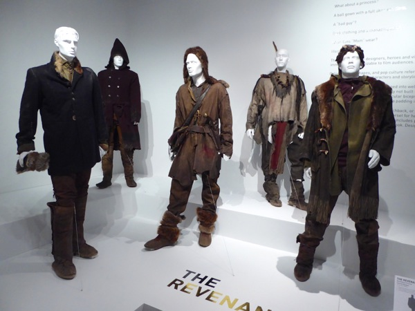 The Revenant movie costumes FIDM Museum LA