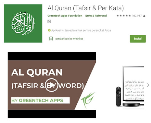 3. Al Quran (Tafsir & Per Kata)