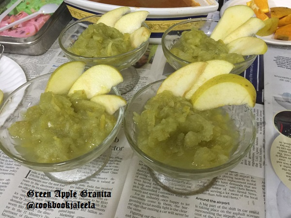 how to cook green apples