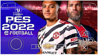 Download PES 2022 ISO PPSSPP Update New Transfer & Player Font Full Team Promotion