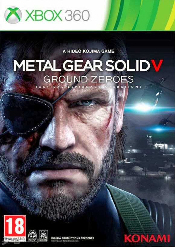 Cover Caratula Metal Gear Solid V Ground Zeroes XBOX 360