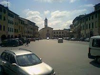 The Piazza Marsilio Ficino is the main square in Figline Valdarno