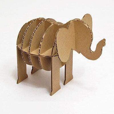 Elefante de Papelão