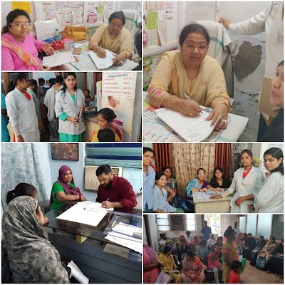 Free Health Check Up Camp Organized At Dr H K Taqi Raza Hospital