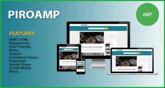 PIROAMP-AMP-Blogger-Template
