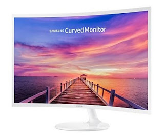 Monitor Komputer SAMSUNG 32 Inch Curved LED C32F391FWE