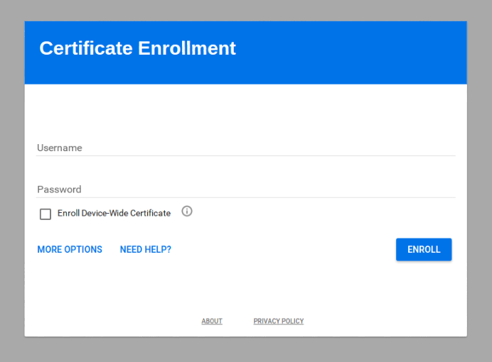 G Suite Updates Blog: Certificate Enrollment for Chrome OS