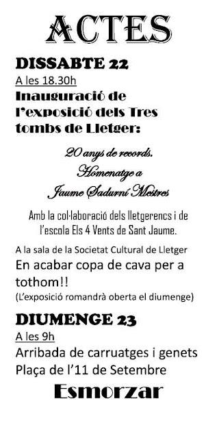 Esguard de Dona - Festa dels Tres Tombs de Lletger 2017 - Exposició i Arribada dels Carruatges