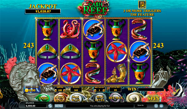 Main Gratis Slot Indonesia - Cash Reef Habanero