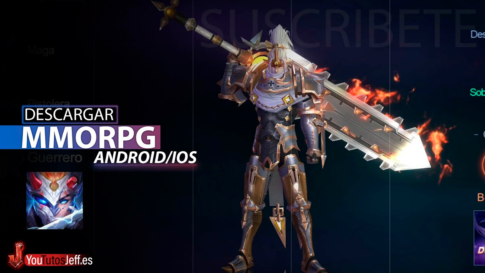 Brutal MMORPG, Descargar Eternal Sword M para Android o iOS