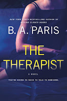 The Therapist, by B. A. Paris, book cover and review