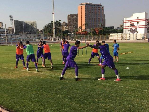 مران الزمالك اليوم تدريبات بدنية لحفني و إبراهيم وجلسة مع اللاعبين من إيناسيو