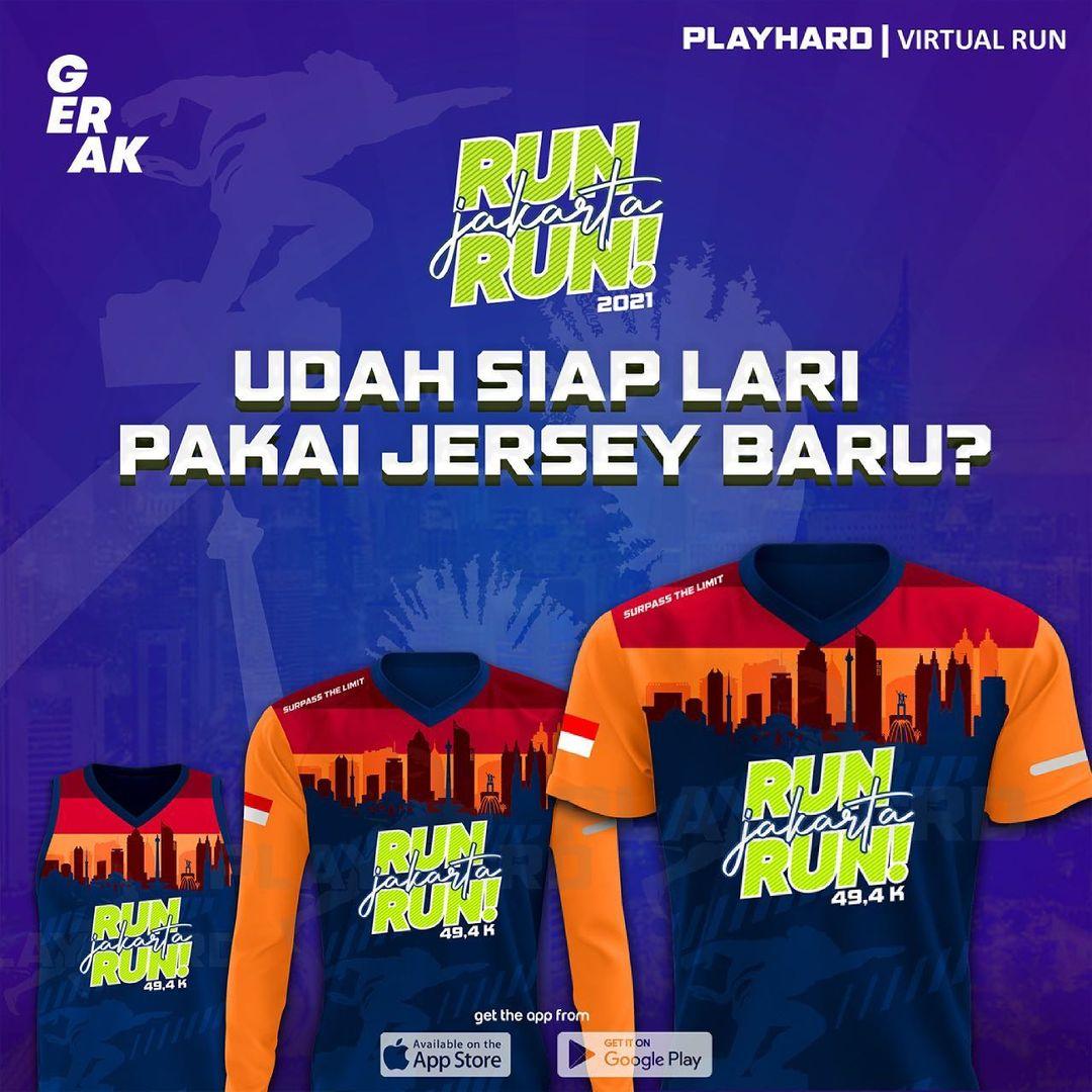 Jersey 👕 Run Jakarta Run • 2021